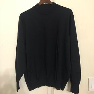 Like New Barney's Men's Black Sweater